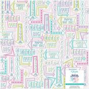 City Vellum Sheet - Sparkle City - Shimelle