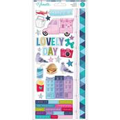 Sparkle City Cardstock Stickers - Shimelle