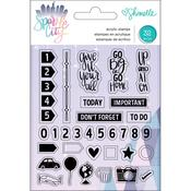 Shimelle Sparkle City Acrylic Stamps