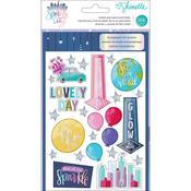 Shimelle Sparkle City Sticker & Washi Folder
