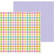 Playful Plaid Paper - Simply Spring - Doodlebug