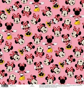 Minnie Pink Paper - Disney Paper - EK Success