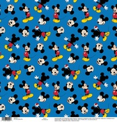 Mickey Blue Paper - Disney Paper - EK Success