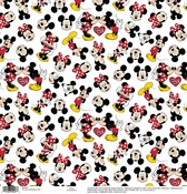 Mickey - Minnie White Paper - Disney Paper - EK Success