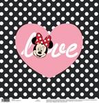 Love Black - White Dots Paper - Disney Paper - EK Success