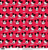 Mickey Red Bashful Paper - Disney Paper - EK Success