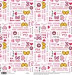 Minnie Phrases Paper - Disney Paper - EK Success