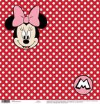 Minnie Red Dots Paper - Disney Paper - EK Success