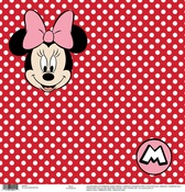 Minnie Red Dots Paper - Disney Paper - EK Success - PRE ORDER