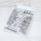 "Lush Greenery - Pinkfresh Studio Clear Stamp Set 4""X6"""