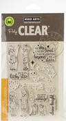 """Lucky Star - Hero Arts Clear Stamps 4""""X6"""""""