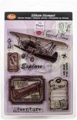Adventure - Viva Decor Clear Stamp Set 14cmX18cm