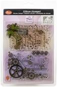 Gear Backgrounds - Viva Decor Clear Stamp Set 14cmX18cm