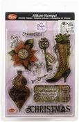 Steampunk Christmas - Viva Decor Clear Stamp Set 14cmX18cm