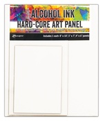 Rectangle - Tim Holtz Alcohol Ink Hard Core Art Panels 3/Pkg