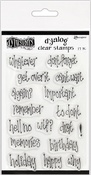 """Whatever - Dyan Reaveley's Dylusions Clear Stamps 4""""X8"""""""