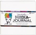 Dina Wakley Media White Journal