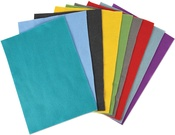 Bold Colors Felt Sheets - Sizzix