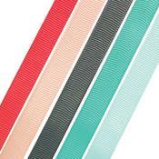 Assorted Colors - Making Essentials Grosgrain Ribbon - Sizzix