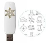 Holiday USB Artwork Drive