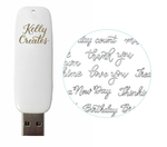 Kelly Creates USB Artwork Drive
