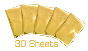 Gold Finch 4 x 6 Foil Sheets - Foil Quill