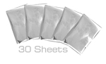 Silver Swan 4 x 6 Foil Sheets - Foil Quill