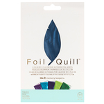 Peacock 4 x 6 Foil Sheets - Foil Quill