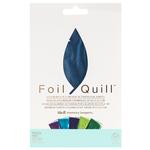 Peacock 4 x 6 Foil Sheets - Foil Quill