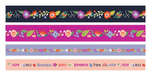 Dark Floral Washi Tape Set - WeR