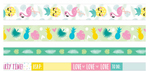 Tropical Washi Tape Set - WeR