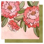 Pink Peony Paper - Saturday Afternoon - OneCanoeTwo