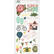 Saturday Afternoon Accent & Phrases Stickers - OneCanoeTwo - PRE ORDER