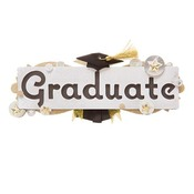 Graduate Name Sticker - Jolee's