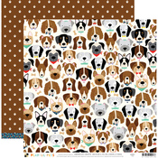 Dogs Paper - Playful Pets - DCWV