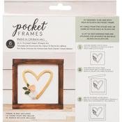 Heart Wreath Insert Kit - American Crafts Pocket Frames