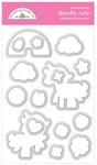 Rainbows & Unicorns Doodle Cuts - Doodlebug