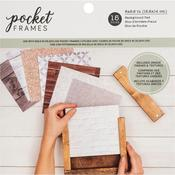 "American Crafts Pocket Frames Paper Pad 6""X6"""
