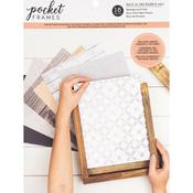 "American Crafts Pocket Frames Paper Pad 8""X10"""