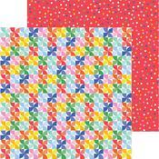 Pinwheels Paper - Bigtop Dreams - Pebbles