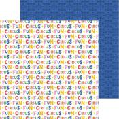 Circus Fun Paper - Bigtop Dreams - Pebbles
