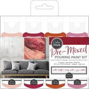 Amber Drift American Crafts Color Pour Pre-Mixed Paint Kit