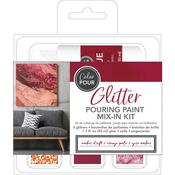 Amber Drift American Crafts Color Pour Glitter Mix-In Kit