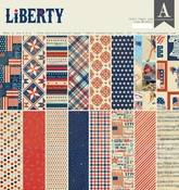 Liberty 12 x 12 Paper Pad - Authentique