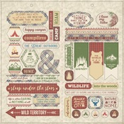 Rustic Elements Accent Sheet - Authentique