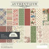Rustic 6 x 6 Paper Pad - Authentique