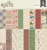 Rustic 12 x 12 Paper Pad - Authentique