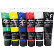 Finnabair Art Alchemy Impasto Paint Set Of 6