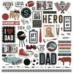 Best Dad Ever Element Stickers - Photoplay