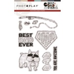 Best Dad Ever Stamps - Photoplay
